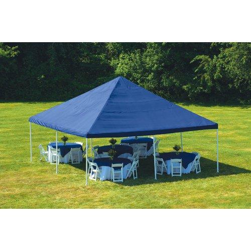 ShelterLogic 20 Ft. W x 20 Ft. D Steel Party Tent