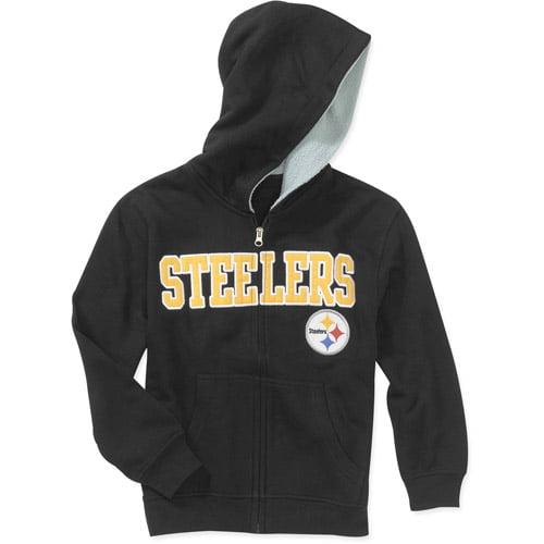 Nfl - Boys' Pittsburgh Steelers Sherpa L