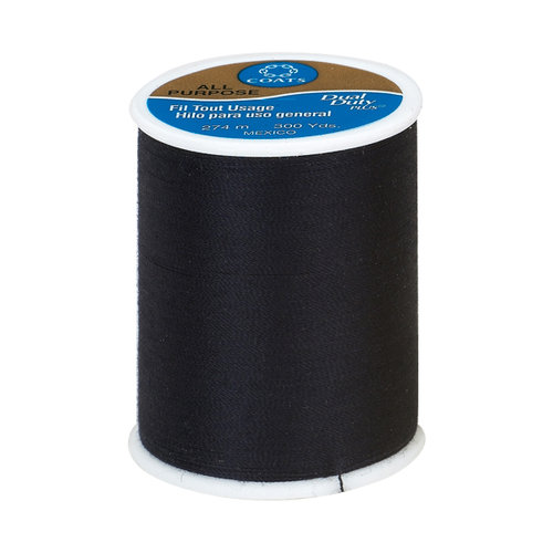 Coats & Clark Dual Duty Plus Thread, 300 yds, Oriental Blue