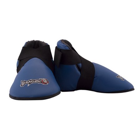 Dragon Do Karate Sparring Boots-Blue-Medium