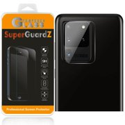 [2-Pack] For Rear Camera Lens of Samsung Galaxy S20 Ultra - SuperGuardZ Tempered Glass Screen Protector, Anti-Scratch, 9H Hardness, Anti-Bubble, Anti-Shock