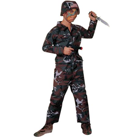 Kids Soldier Costumes (Army Soldier Child Costume)