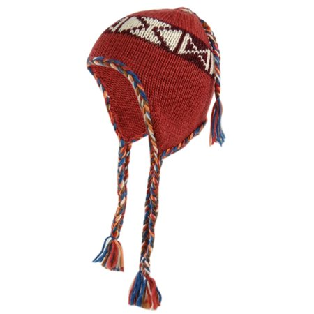 American Rag Women's Tribal Print Knit Winter Trapper Hat