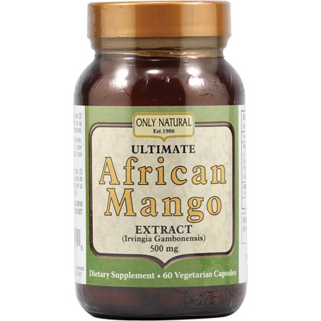 Only Natural Ultimate African Mango, 60 Ct