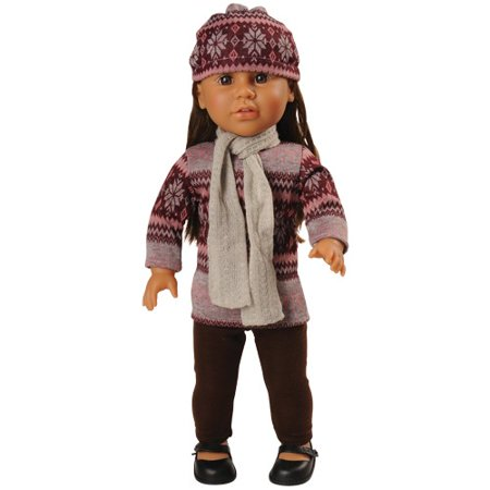WARM & TRENDY CLOTHES FOR 18 IN DOLL (Trendy Doll)