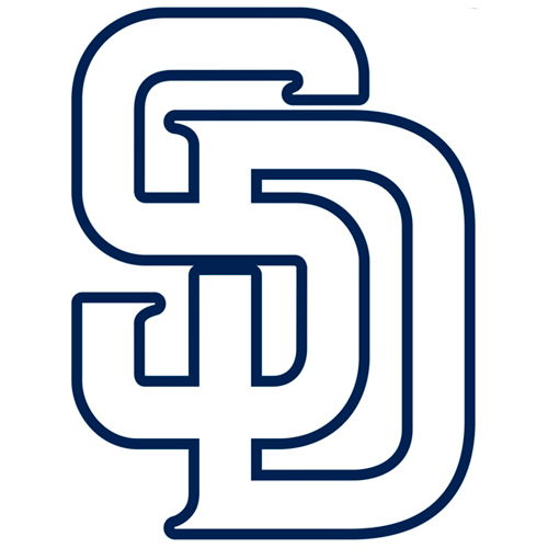 San Diego Padres Fathead Logo Giant Removable Decal - No Size