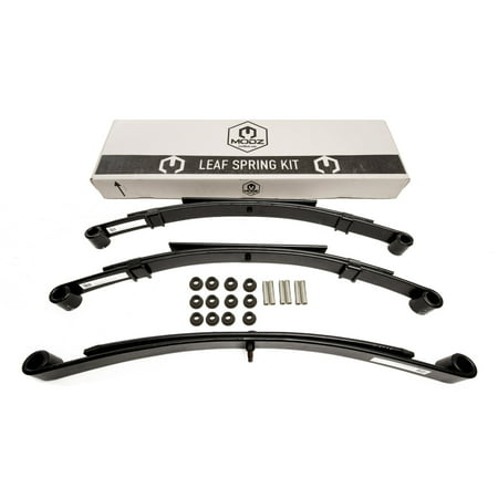 Rear Single Leaf Spring - Golf Cart Club Car DS Front & Rear Heavy Duty Leaf Springs - Complete Set