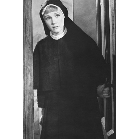 Julie Andrews in The Sound of Music 24x36 Poster in Nun's outfit (Different Nun Outfits)