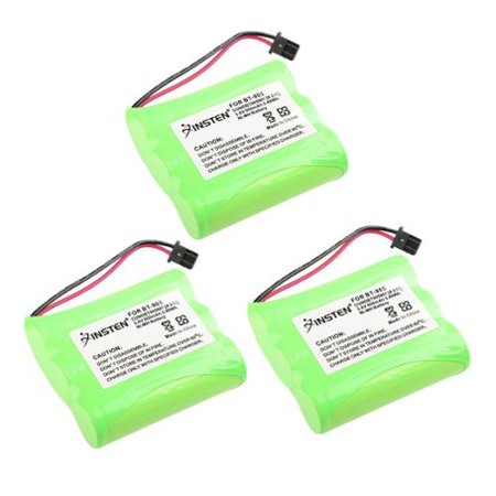 Insten Rechargeable Cordless Home Phone Battery For Uniden BT-905 2.4GHz phone DXAI3288-2 EXAI3248 TRU3466 (3 (Bt 905 Cordless Phone)