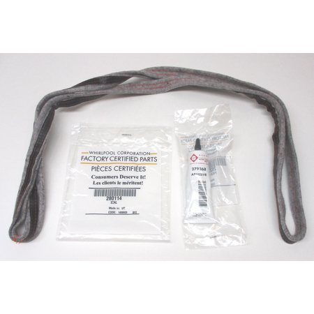 WP280114 Whirlpool Kenmore Dryer Front or Rear Drum Felt Seal AP3790434 PS970088 Dryer Drum Felt Seal