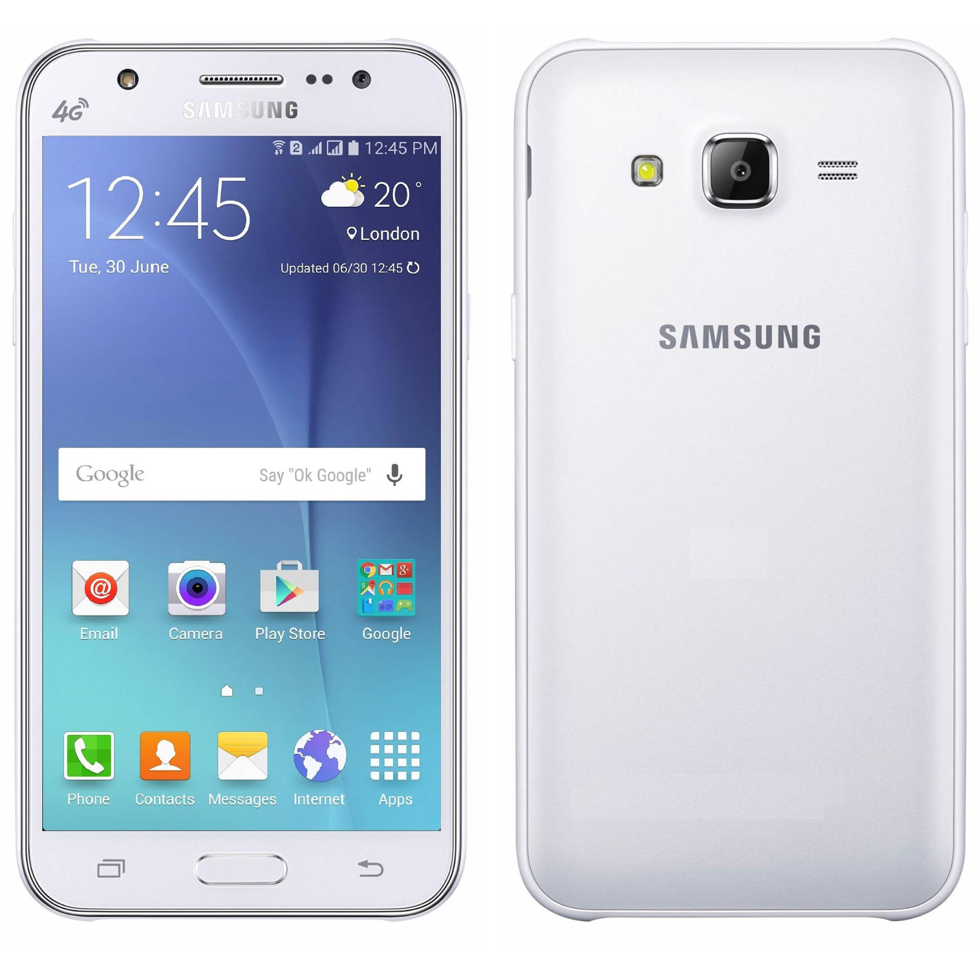 Samsung Galaxy J5 J500M 8GB GSM 4G LTE Android Smartphone ...