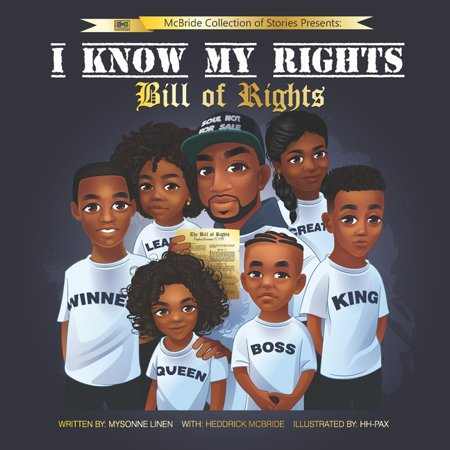 I Know My Rights: Bill Of Rights (Paperback)