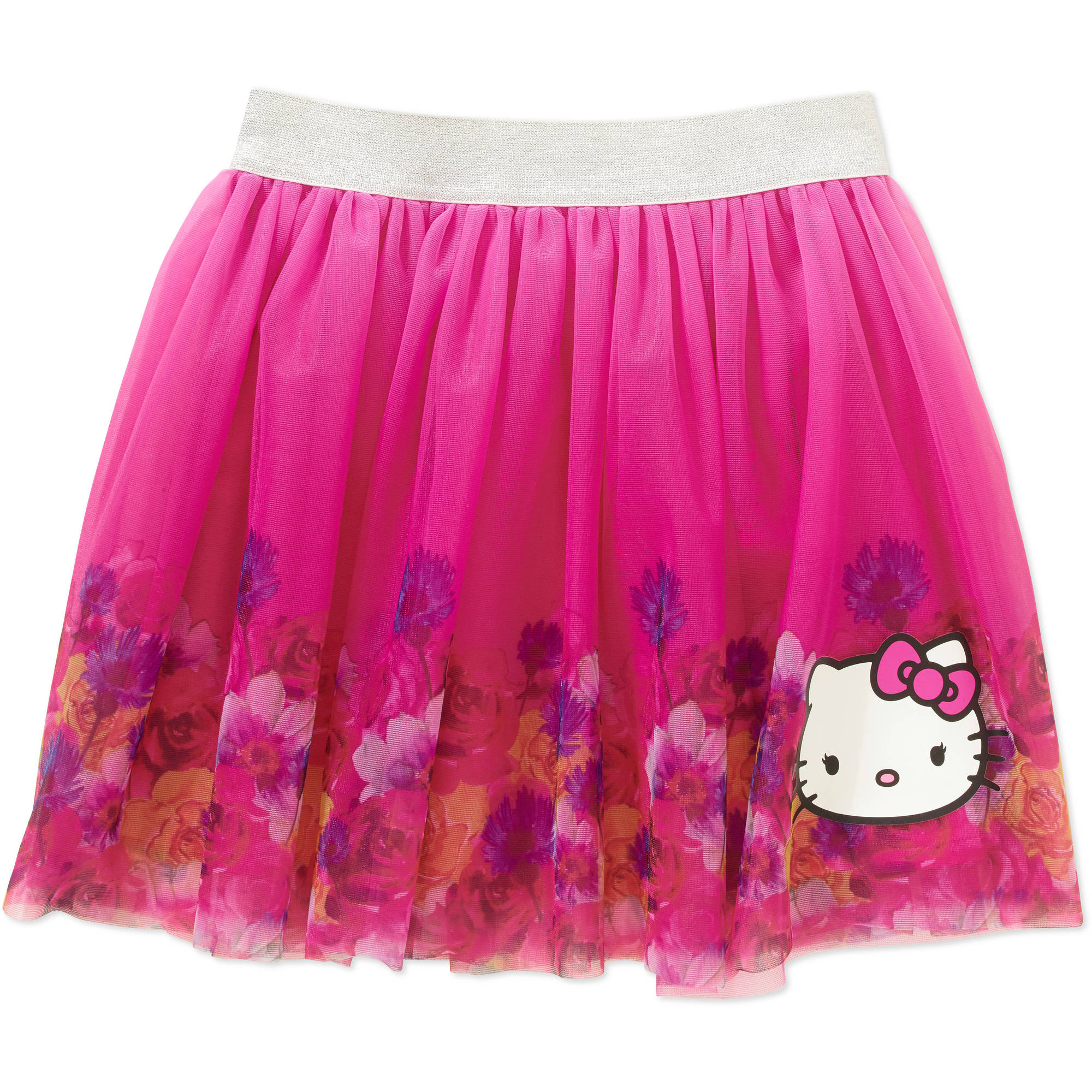 Hello Kitty Girls' Skirt with Applique