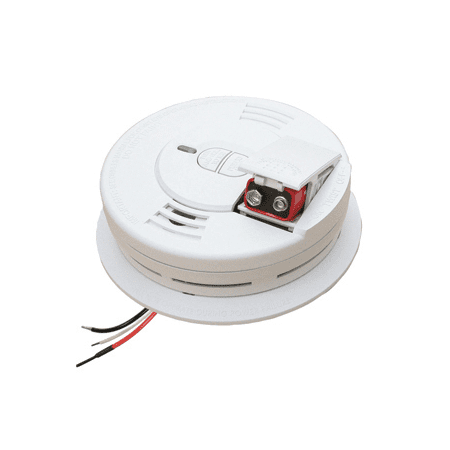 Kidde Hardwire Ionization Smoke Alarm with Front Battery Door (Best Home Smoke Detectors)