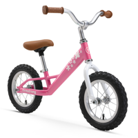 Firmstrong Kids' Balance Bike, 12 Inches, Pink