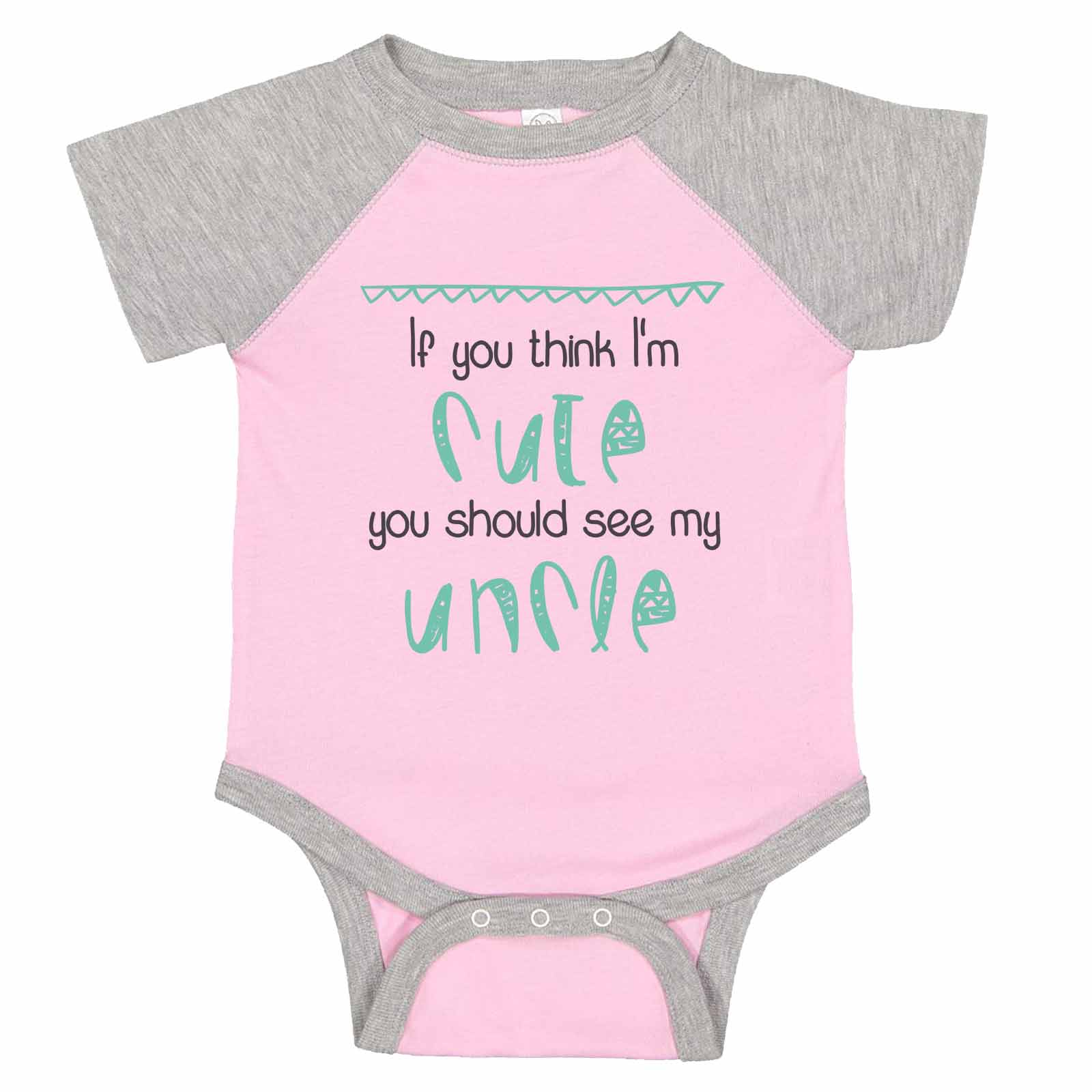 Toddler//Kids Ruffle T-Shirt Im Going to Love Pigs When I Grow Up Just Like My Uncle