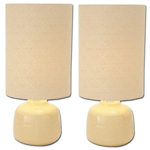 Urban Designs Sofia 23'' Table Lamp (Set of 2)