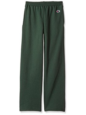 P890 Double Dry Eco Youth Open Bottom Sweatpants with Pockets