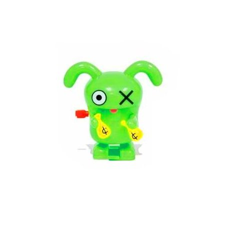 Uglydoll Green Ox Walking Spinning Wind Up Toy