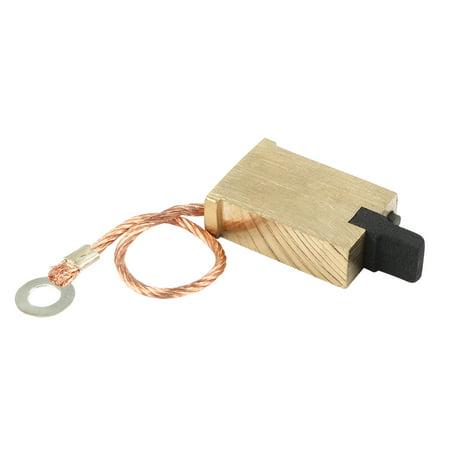 Replacement 7mm x 14mm x 22mm Pressure Regulator Brass Carbon Brush (7mm Rem Mag Brass)