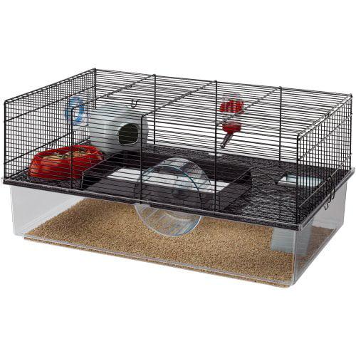 Ferplast Hamster Cage, Black by
