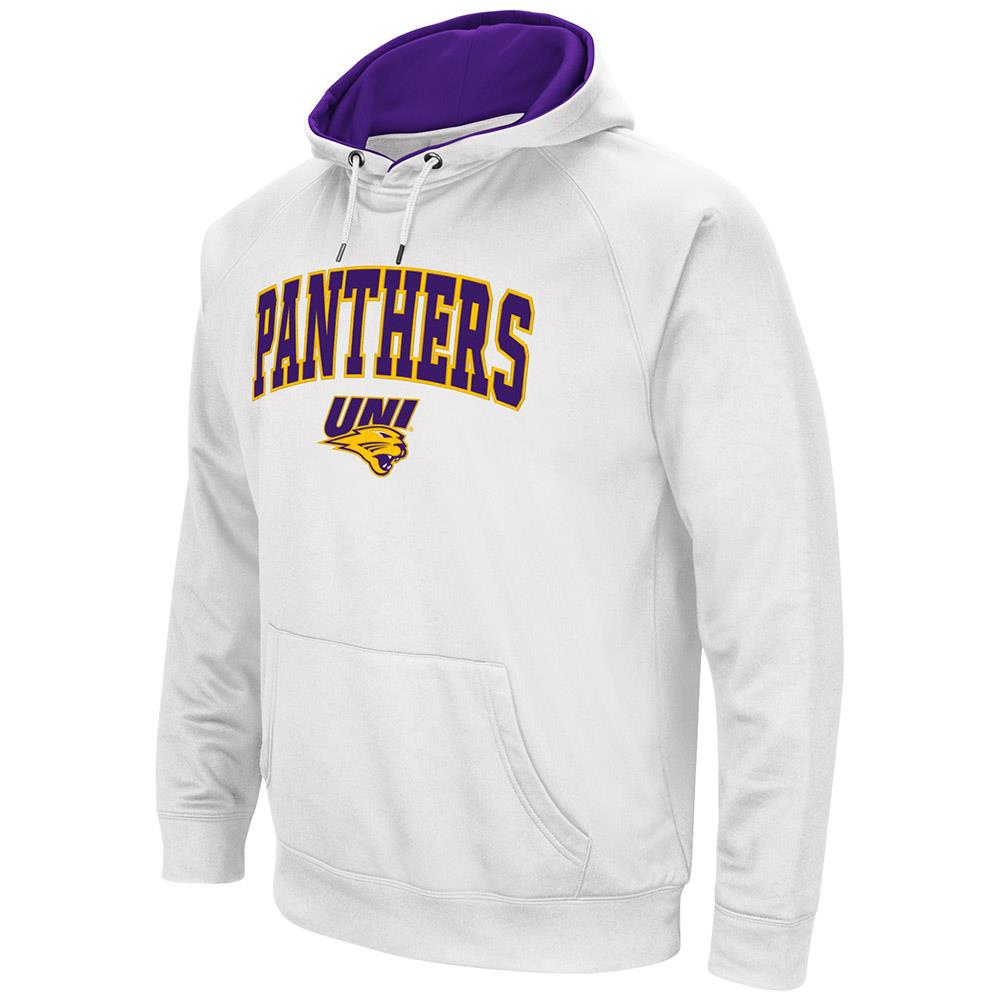 Mens NCAA UNI Northern Iowa Panthers Fleece Pull-over Hoodie by Colosseum