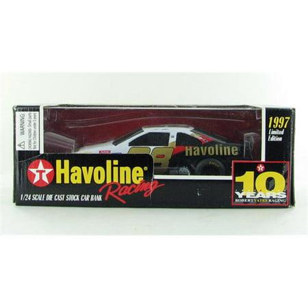 Racing Champions RAC00561T Texaco Havoline No. 28 Diecast Racing Car - 10 years Ernie Irvan