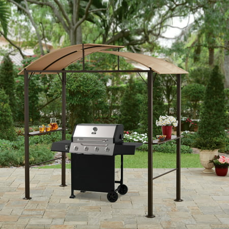 Better homes and gardens lauderdale curved hardtop grill gazebo Better homes and gardens gazebo