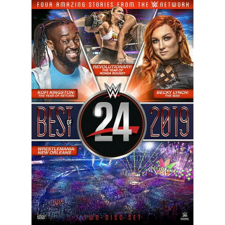 WWE24: The Best Of 2019 (DVD) (Best Lesbian Couples On Tv 2019)