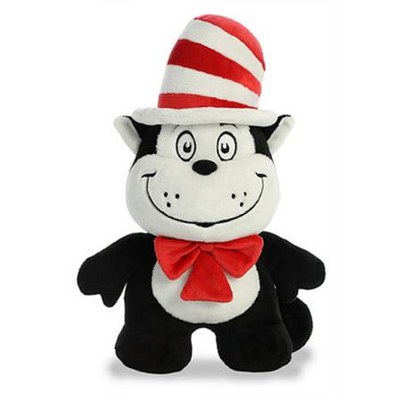"11"" Cat in the Hat Dood Plushie Dr. Seuss Aurora Licensed Stuffed Plush"