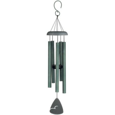 Carson 30 in. Signature Series Wind Chime-Forest Green