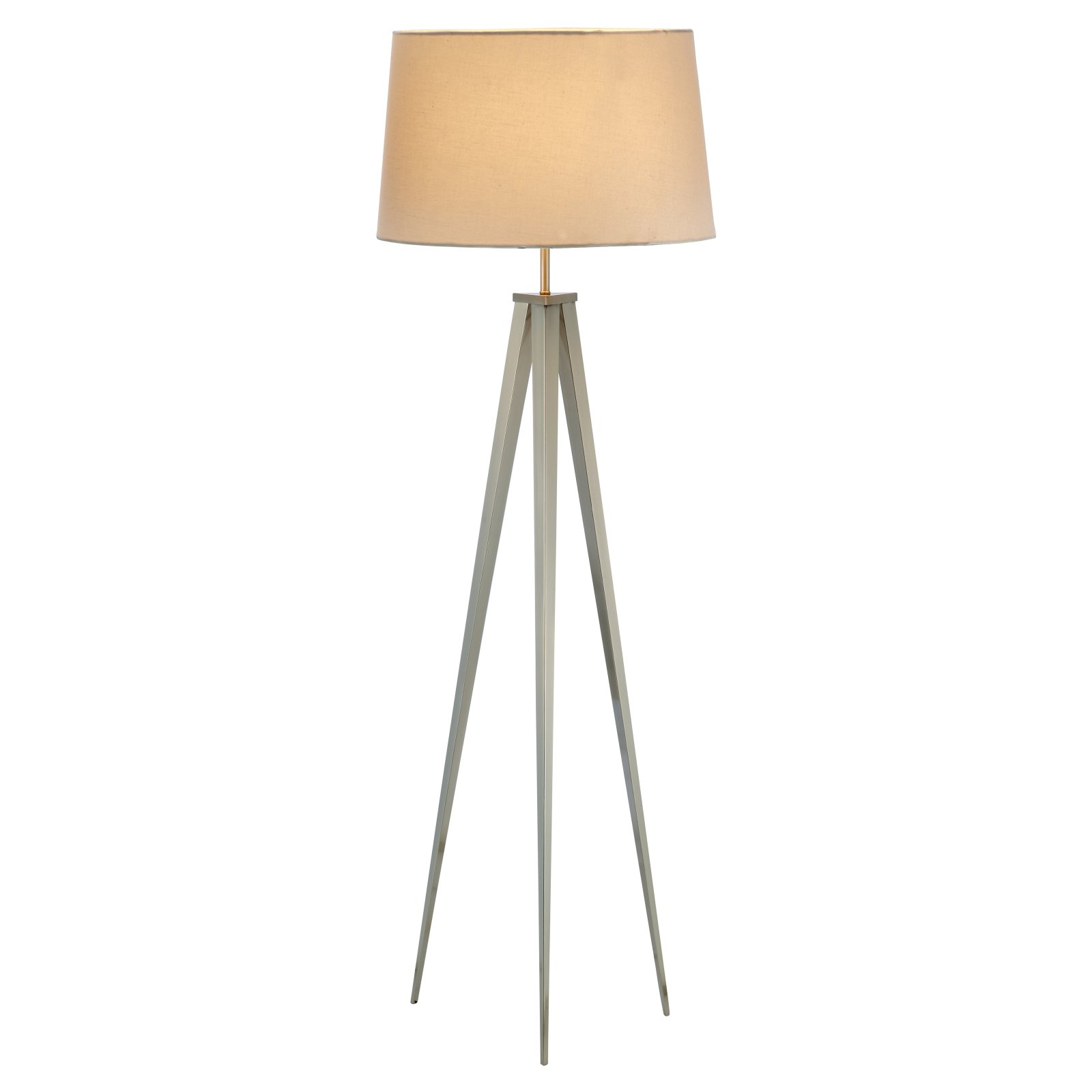 Adesso Producer 3264 Floor Lamp - Satin Steel