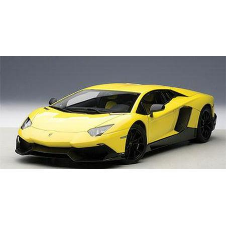 Lamborghini Aventador Lp720 4 Yellow Giallo Maggio 50th Anniversary
