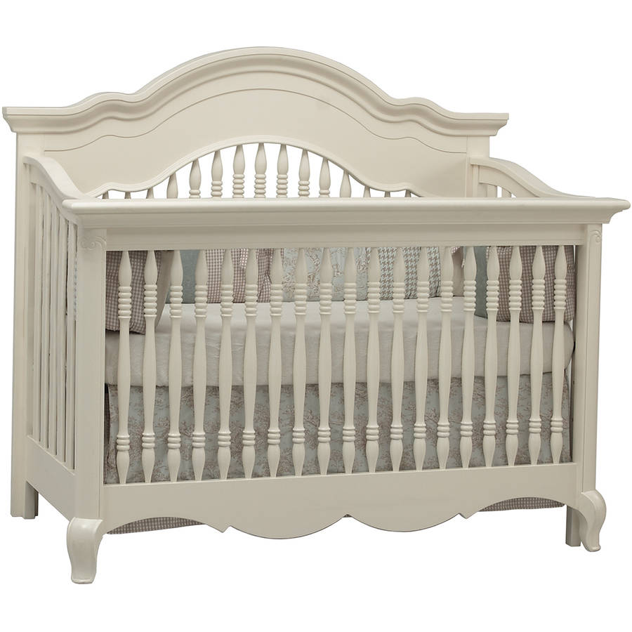 Suite Bebe Julia 4-in-1 Convertible Crib White