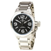 TW300 Men's Canteen Black Dial Stainless Steel Bracelet Watch