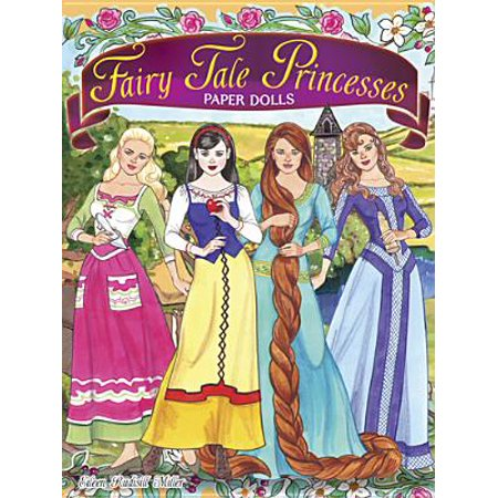 Fairy Tale Princesses Paper Dolls - Fairy Tale Men