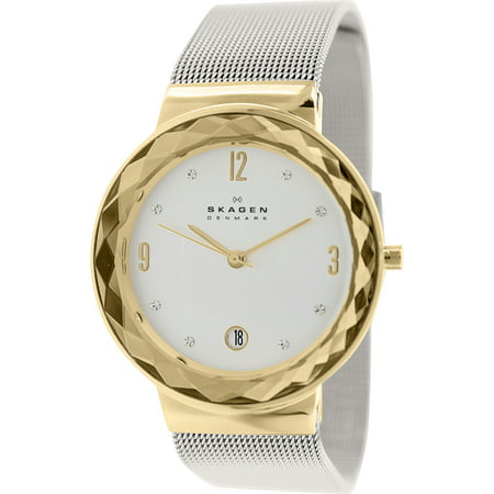 Women's Leonora Date Display Mesh Watch -
