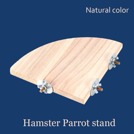 Parrot Gym - Anauto Parrot Bird Toys, Wooden Parrot Bird Budgie Pet Perch Platform Gym Toy Cage Perches Stand Gifts