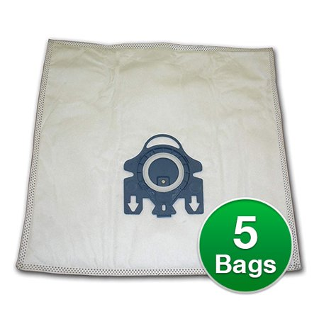 Replacement Type G/N Allergen Plastic Collar Vacuum Bags For Miele Olympus 2000 Vacuums