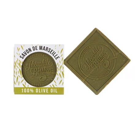 Theophile Berthon Pure Olive Oil Marseille Bar Soap 100g 3.52oz