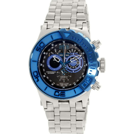 Invicta Men's Subaqua 15966 Silver Stainless-Steel Swiss Chronograph Watch