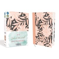 NIV, Journal the Word Bible for Teen Girls, Hardcover, Pink Floral: Includes Hundreds of Journaling Prompts! (Hardcover)