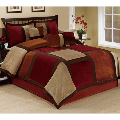Homechoice International Group Spencer 7 Piece Comforter Set