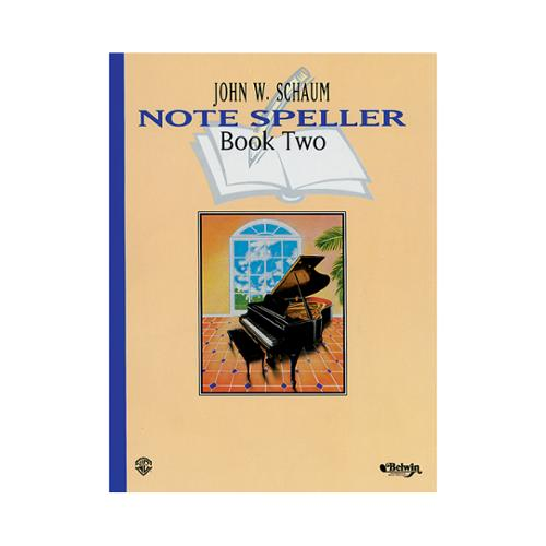 Alfred 00-EL00221A Note Speller- Book 2- Revised - Music Book