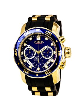 Invicta Men's Pro Diver 6983 Gold Rubber Swiss Chronograph Fashion Watch