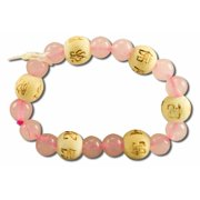 Karma Kids Bracelet, Rose Quartz/Love & Friendship, 1 ea