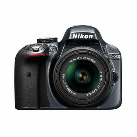Nikon D3300 Digital SLR with 24.2 Megapixels and 18-55mm Lens