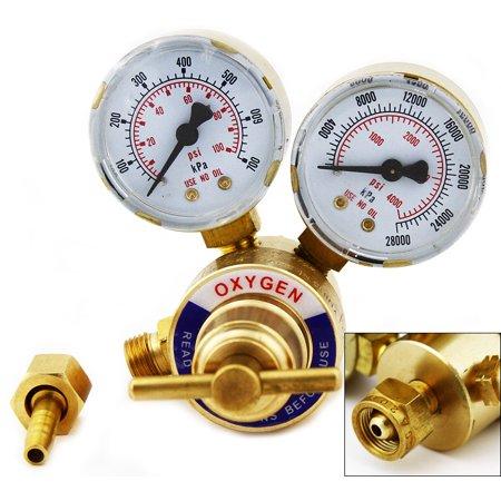 - Handy Oxygen Solid Brass Gas Welding Pressure Gauge Regulator, Victor Type