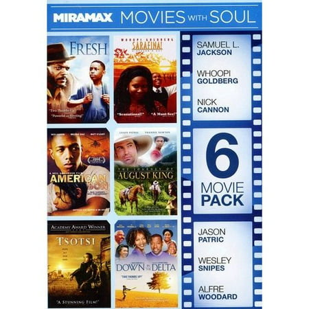 Miramax 6 Movie Pack  Volume 4  Fresh   Sarafina    American Son   The Journey Of The August King   Tsotsi   Down In The Delta