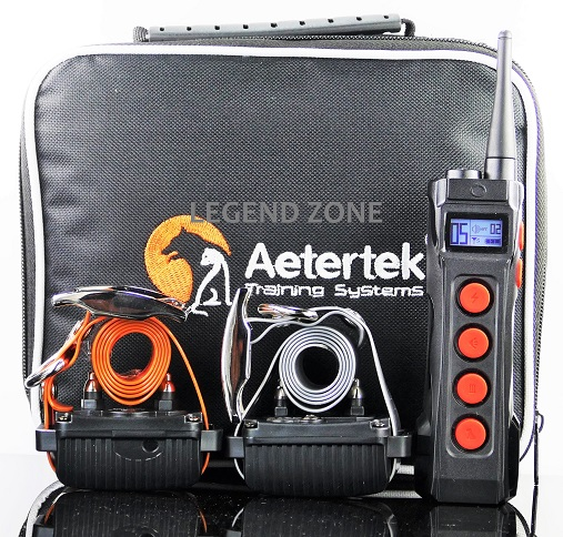 Aetertek  AT-919C 1000M Remote 2- Dog Training Shock Collar Auto Anti Bark Submersible with LCD display
